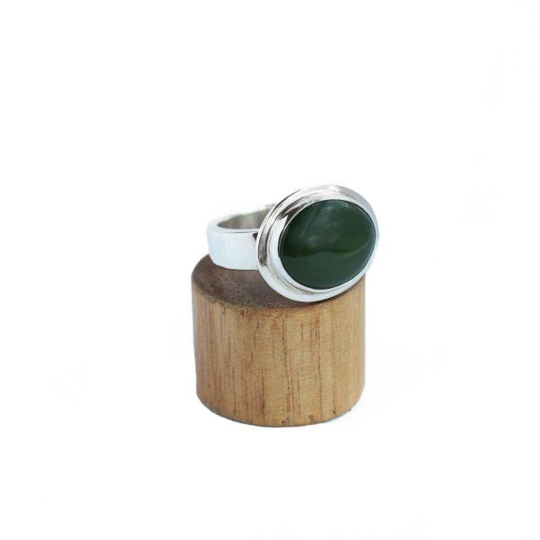 Nephrite Jade Sterling silver handmade