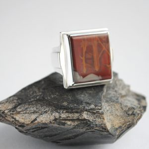 Noreena Jasper Glacier Jewellery Ring