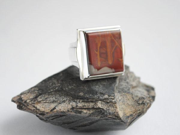 Noreena Jasper Glacier Jewellery Ring