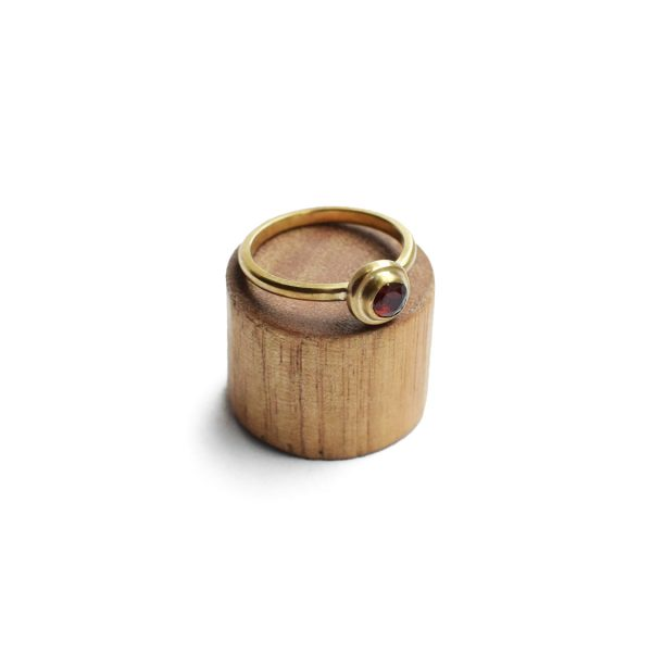 Gold RIng Matte Band