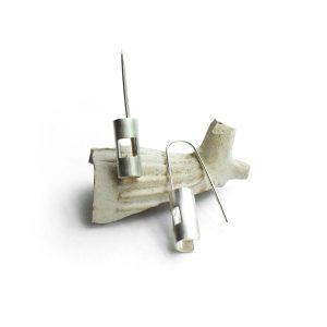 Handmade Square Kelly Earrings