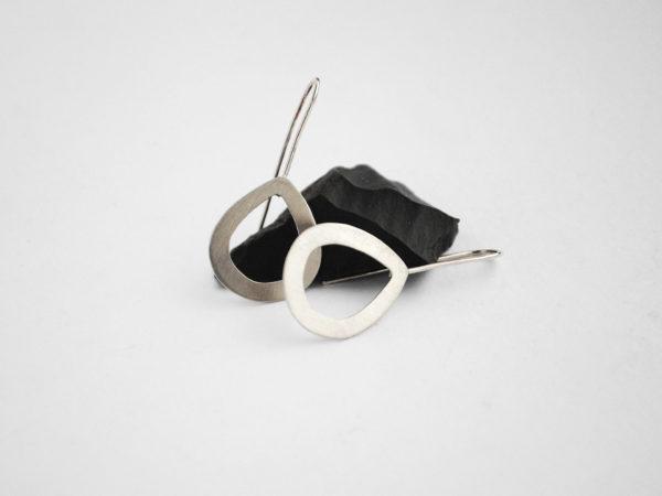 Pear Shaped Handmade Earrings Adelaide Glacier Jewellery
